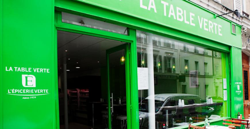 Epicerie Verte et Table Verte Bio Paris