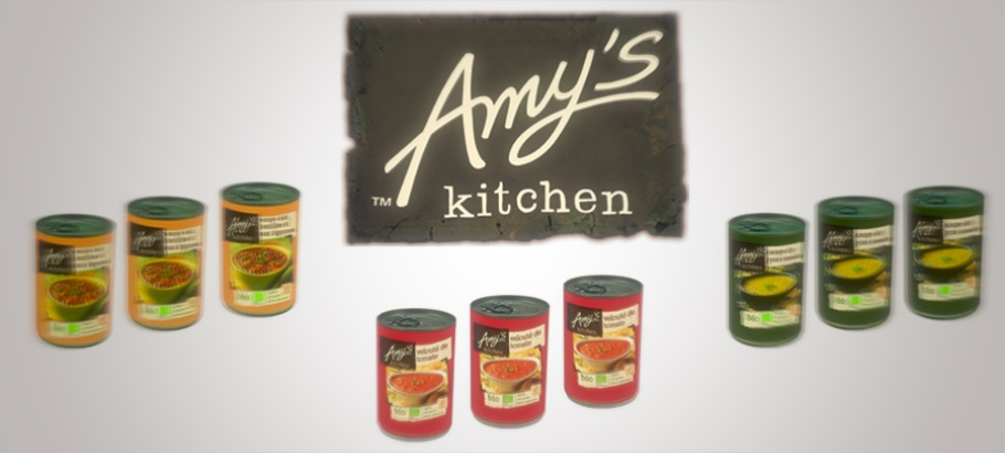 Soupe Amy's Kitchen - JulieFromParis