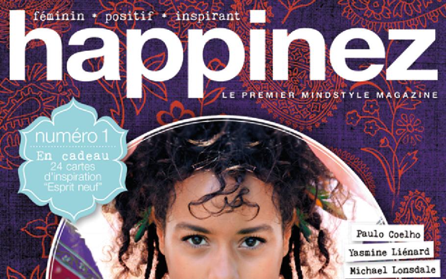 Couverture Happinez - JulieFromParis