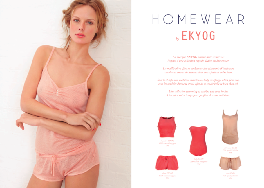 Ekyog Homewear - JulieFromparis