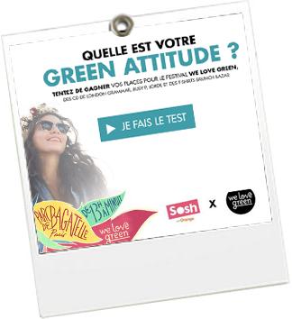 Test Green Attitude - We Love Green - JulieFromParis