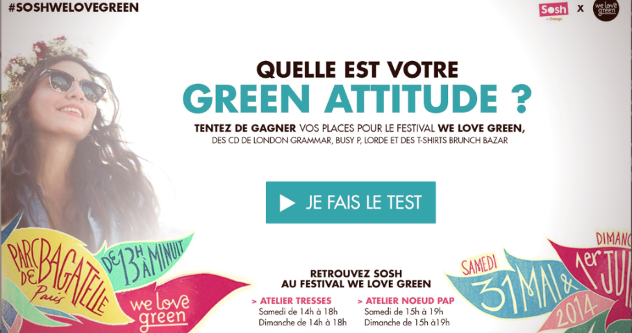 Green Attitude Test - JulieFromParis