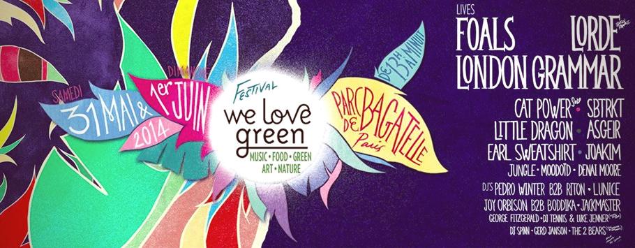 We Love Green - Julie FromParis