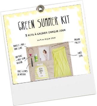 Green Summer Kit - Ekyog - JulieFromParis