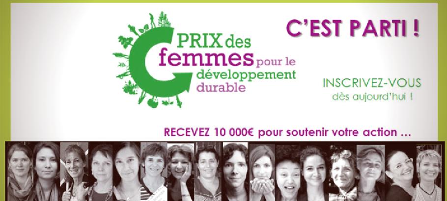 Prix femmes et développement durable -  JulieFromParis