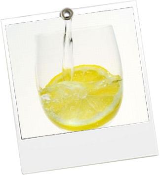 Eau citronnée - JulieFromParis
