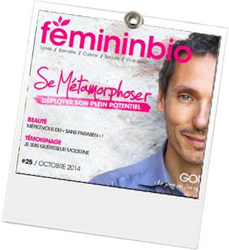 Magasine Ipad FemininBio - JulieFromParis
